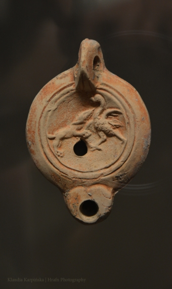 Ancient oil lamp