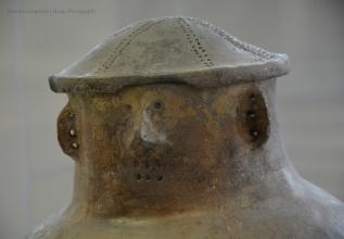 Detail of Face Urn