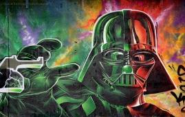 Darth Vader Graffiti IV