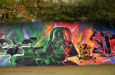 Darth Vader Graffiti II