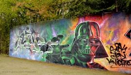Darth Vader Graffiti III