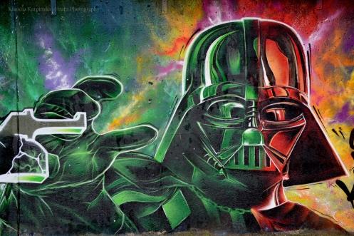 Darth Vader Graffiti V