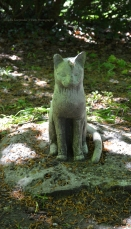 or maybe cat grave monument?