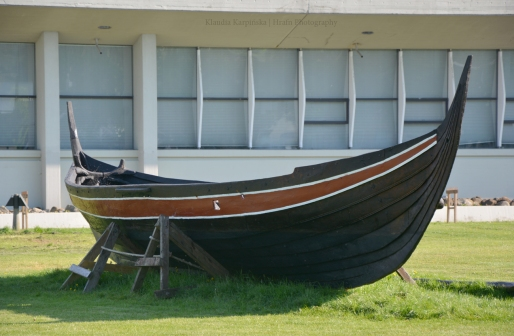 Reconstruction of Viking Age Boat