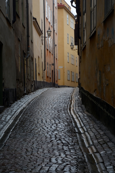 Gamla stan in rainy day (II)