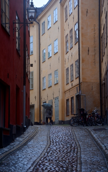 Gamla stan in rainy day (VI)