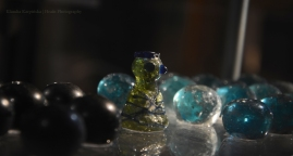 Glass Game Pieces (Grave Bj 750 , Birka)