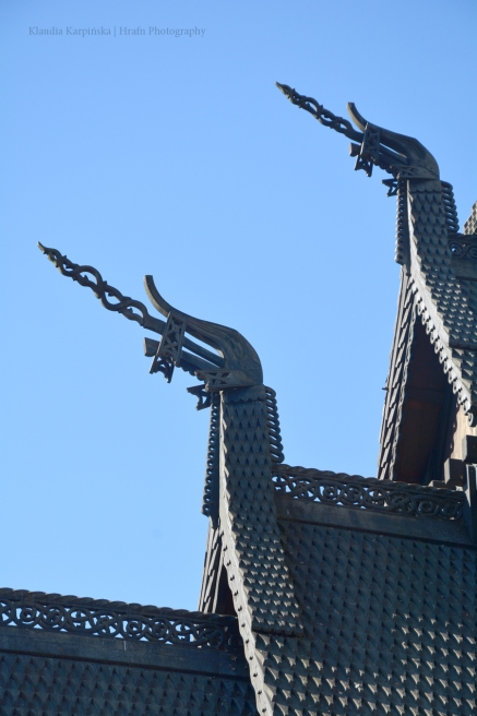 Ornaments of Fantoft stave church