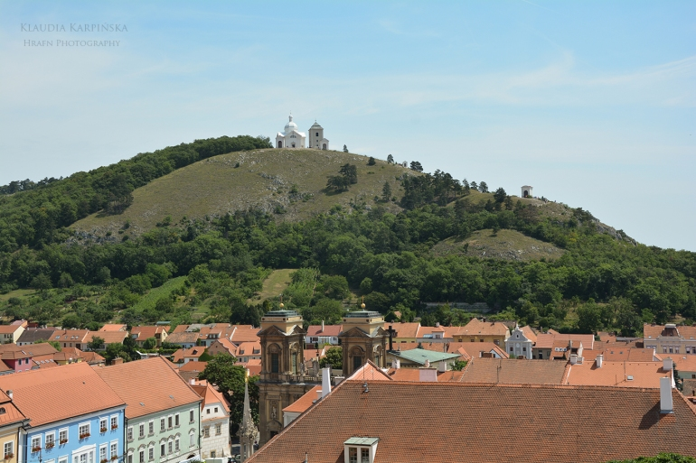 View from Mikulov Castle