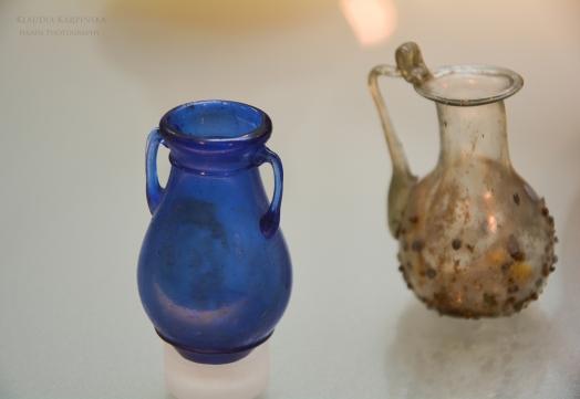 Ancient Roman glass vessels