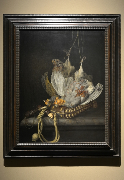 'Still life with Partridges' by Willem van Aelst