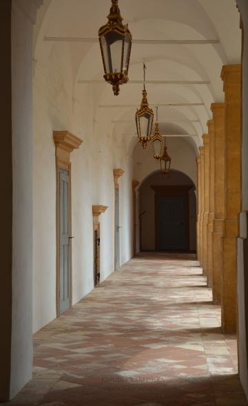 Arcades of Eggenberg Palace