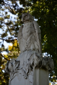 Eduard Albert's grave monument (III)