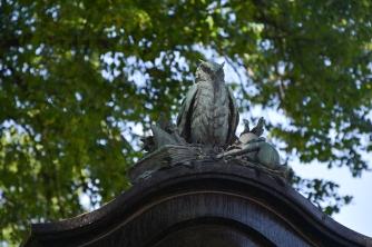 Anton Schrötter von Kristelli's grave monument (II)