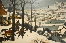 'The Hunters in the Snow' by Pieter Bruegel the Elder