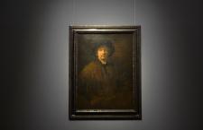 Large self-portrait by Rembrandt van Rijn